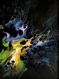Картина/ живопис/ абстракція Fluid Art #3 acrylic, фото №10