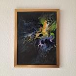 Картина/ живопис/ абстракція Fluid Art #3 acrylic, фото №12