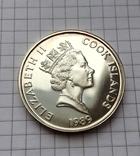 50 долларов о-ва Кука 1989 серебро, фото №4