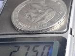 5 марок, Пруссия, император Вильгель II, 1908 год, серебро 0.900, 27.77 грамм, фото №4