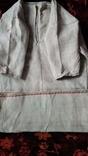 Старинная полотняная сорочка, фото №2