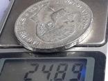 5 песет, Испания, 1885 г., король Альфонсо XII, M.S. .M., серебро 0.900, 25 гр., фото №4