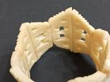 Браслет кость на резинке, фото №7