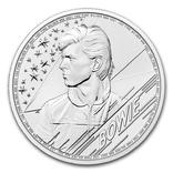 Новинка Дэвид Боуи 2 фунта 2021 Серебро 1oz 999, фото №2