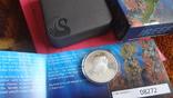 50 центов 2010 Австралия Морской конек Цветная Сертификат Коробка серебро, фото №7