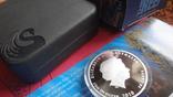 50 центов 2010 Австралия Морской конек Цветная Сертификат Коробка серебро, фото №8