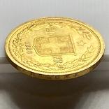 20 франков. 1886. Гельветика. Швейцария (золото 900, вес 6,47 г), фото №8