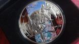 1000 драм 2011 Армения Дзюдо Сертификат тираж 5000 Цветная серебро, фото №4