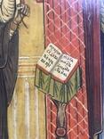 Икона Благовещение в киоте., фото №8