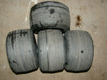 Четыре колеса от какой то детской техники., фото №4