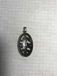 Кулон 835 пробы серебро, фото №3