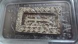 1000 драм 2011 Армения Хачкар Православная Армения тираж 2500 серебро, фото №3