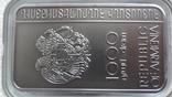 1000 драм 2011 Армения Хачкар Православная Армения тираж 2500 серебро, фото №5