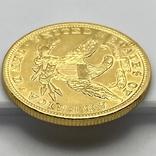 10 долларов. 1907. США (золото 900, вес 16,70 г), фото №11