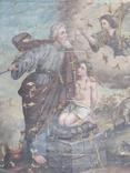 Икона сюжетная. 61х49., фото №10