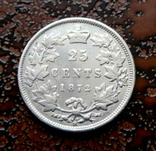 25 центов Канада 1872 серебро, фото №5