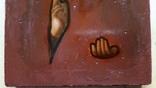 Ікона Ісуса Христа, підокладна, 22,0х17,1 см, фото №6