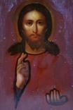 Ікона Ісуса Христа, підокладна, 22,0х17,1 см, фото №7