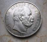 Победный талер 1871 год Пруссия, фото №2