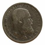 5 марок 1900 р, Вюртемберг, фото №2