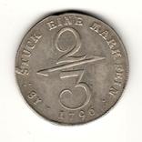 2/3 талера 1796 р, Макленбург - Шверін, фото №2