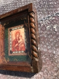 Икона Богородицы 19х17 см, фото №6