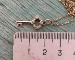 Золотой ключик с бриллиантами(невыкуп)., фото №8