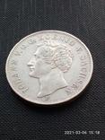 Таляр 1854 р. Саксонія, фото №2