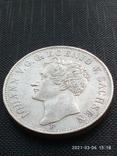 Таляр 1854 р. Саксонія, фото №3