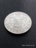 Таляр 1854 р. Саксонія, фото №4
