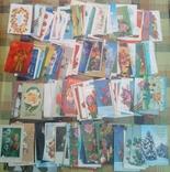 226 не подписанных открыток+бонус, фото №4