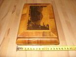 Шкатулка деревянная шпонированная СССР, фото №12