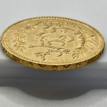20 франков. 1898. Тунис (золото 900, вес 6,44 г), фото №11