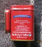Жестяная коробка из-под чая в виде англ. телефонной будки, фото №6