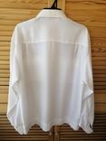 Генеральская шелковая рубашка с вышивкой, индпошив, с галстуком с вышивкой, фото №4