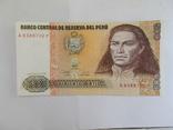 Перу. 500 инти 1987 г., фото №2