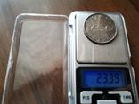 Канада 1 доллар 1953 / серебро, фото №4