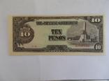 Японская оккупация Филиппин 10 песо., фото №2