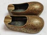 Пара восточной обуви - пепельницы, фото №2