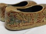 Пара восточной обуви - пепельницы, фото №4