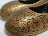 Пара восточной обуви - пепельницы, фото №6