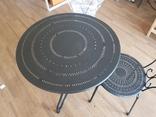 Стол и 2 стула из металла, фото №4