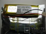 Акумулятор 1100мАг до Деус в комплекті з контактами, фото №4