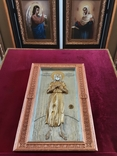 Мощевик-икона прп. Алексий, человек Божий с частичкой мощей святого., фото №2