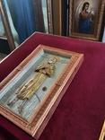 Мощевик-икона прп. Алексий, человек Божий с частичкой мощей святого., фото №5
