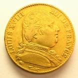 Франция 20 франков 1814 г., фото №2