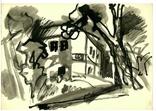 Символизм зарисовка город, фото №2