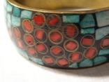 Браслет мозаика эмали, фото №3