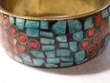 Браслет мозаика эмали, фото №5