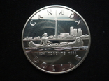 "1 доллар 1984 года, Канада ""150 лет Торонто"", серебро. Proof., фото №5"